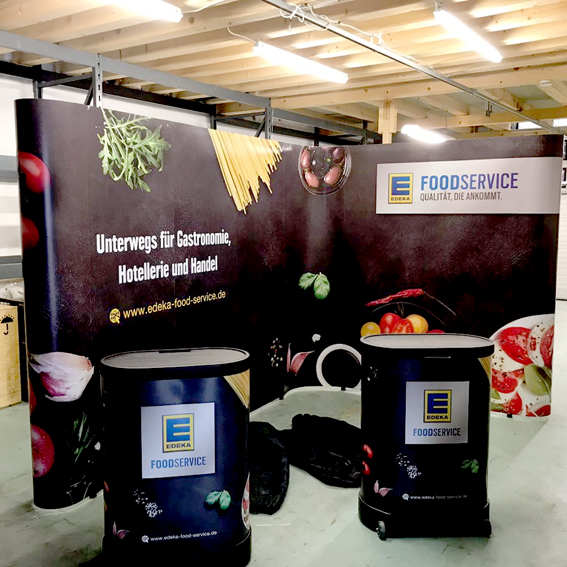 Messestand EDEKA