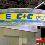Messebau für E C+C