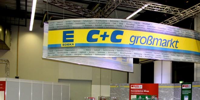 Messeprojekt für die Edeka C+C Großmarkt GmbH + Spar