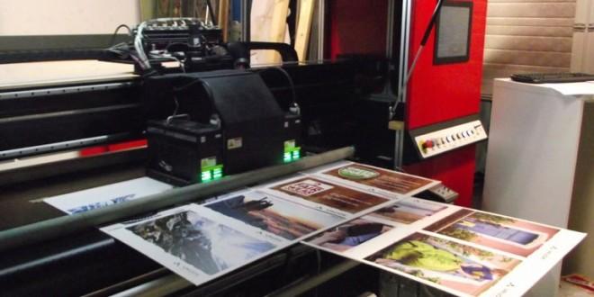 Plattendirektdrucker