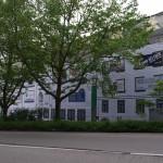 Verhüllung Wiedemannbau, Adlerquartier Wangen