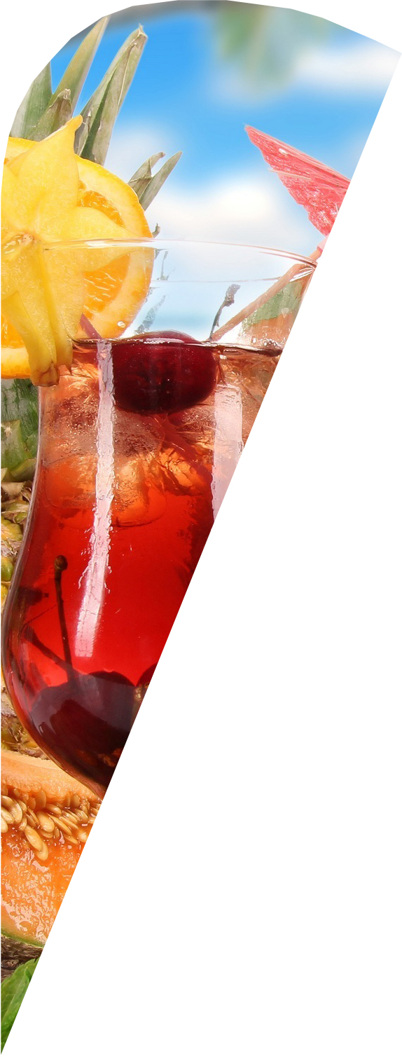 Waikiki mit Cocktailmotiv