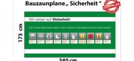 Sicherheit geht vor – Mit Bauzaunplanen von deutscher-digitaldrucker.de