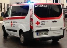 DRK Wangen Rettungswagen Heck