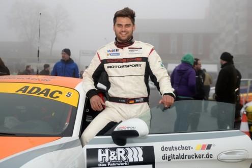 Fidel Leib beim Porsche Sports Cup 2015 unterstützt durch deutscher-digitaldrucker.de