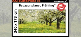 Aktion Bauzaunplane April 2015