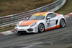 Porsche Cup 2015 mit Werbung von deutscher-digitaldrucker.de