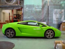 Lamborghini rechte Seite