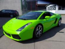 Lamborghini vollverklebt Gesamtansicht