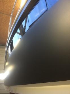 Motoryacht Folierung deutscher-digitaldrucker Steuerbord