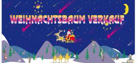 Werbebanner – Werbeplakate – Weihnachtsbaum Verkauf