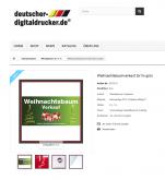 Werbebanner Plakat Weihnachtsbaum Gruen2x1