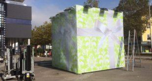Geschenkverpackung aus Mesh