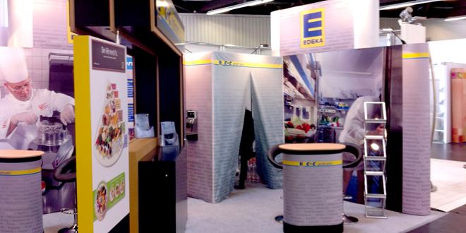 Messeauftritt von EDEKA C+C Großmarkt