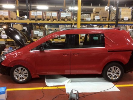 Vollverkleben VW Sharan