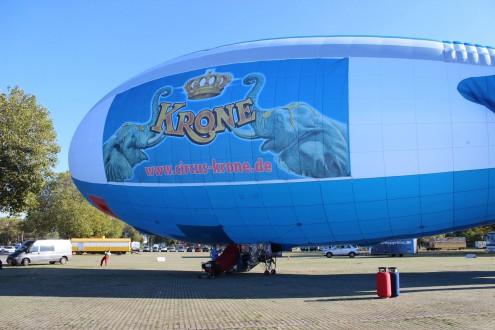 Luftschiff Werbung