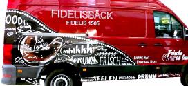 Neues KFZ – Design beim Fidelis1505 in Wangen (Fidelisbäck Wangen)
