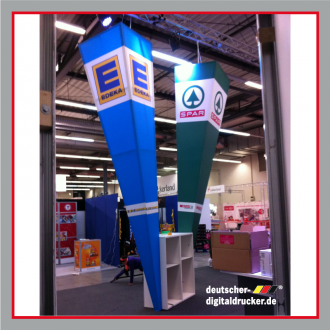 Edeka Messestand