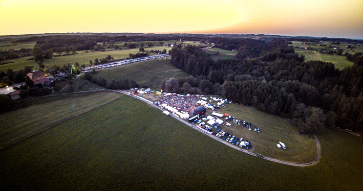 Woodstockenweiler Luftaufnahme