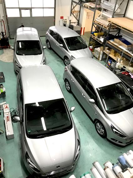 Folierung Ihrer Flottenfahrzeuge