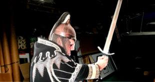 Die Standfigur des Ritters