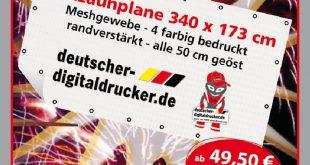 Baustellen als Werbeträger für unter 100 Euro? Bericht aus Wangen im Allgäu