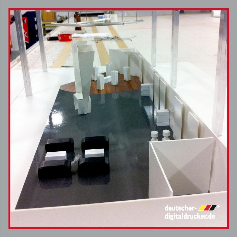 Messe - Planung des Equipments durch Mendel Printdesign